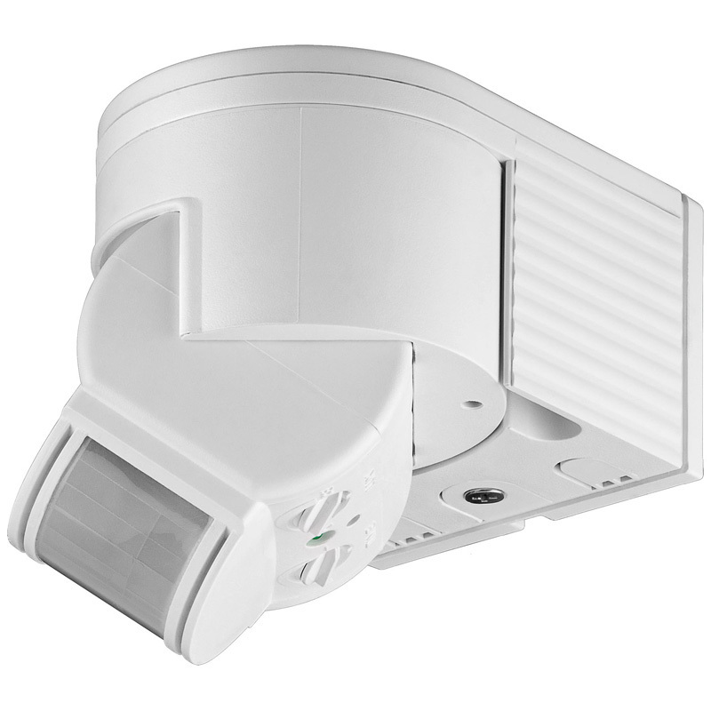 infrarot bewegungsmelder led geeignet aufputz aussen und innenraum ip44 95175 www. Black Bedroom Furniture Sets. Home Design Ideas