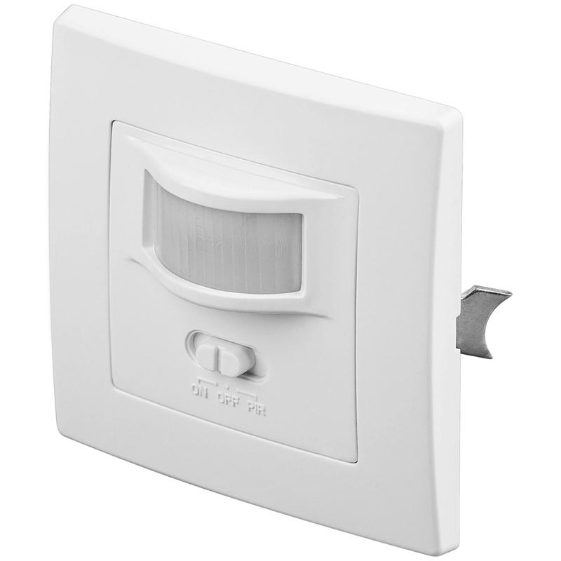infrarot bewegungsmelder schalter an aus led geeignet unterputz innenraum ip20 96005. Black Bedroom Furniture Sets. Home Design Ideas