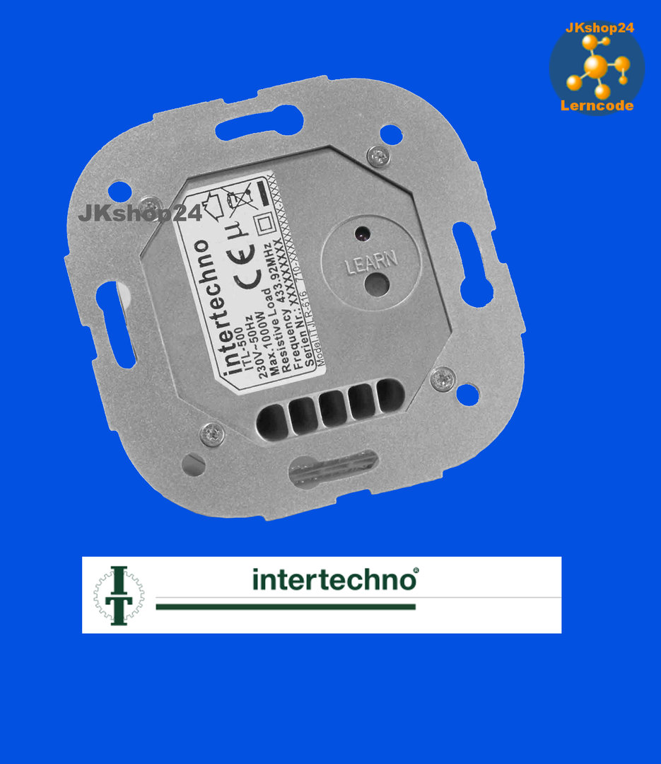 ITL-500 Funk-Motor-Schalter schaltet Jalousien-/Rolladen-/Garagen ...