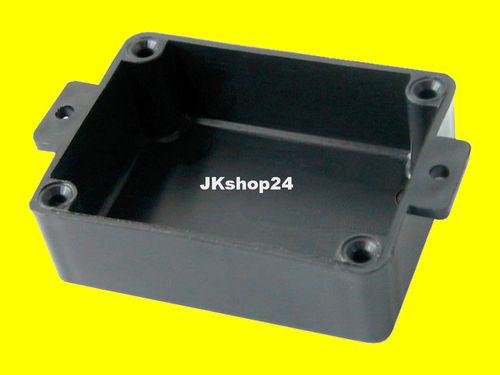 KEMO G010 Elektronik Halbschalen-Gehäuse Kunststoff Leergehäuse 95 x 135 x 45 mm